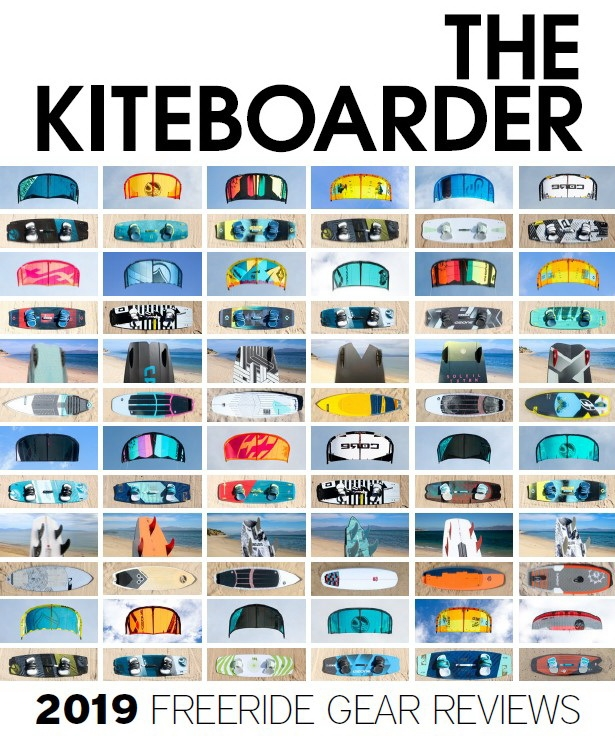 The Kiteboarder freeride test 2019